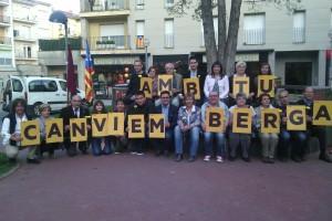 Esquerra presenta a Berga una llista diversa formada per 22 persones amb Jaume Giménez de número 2
