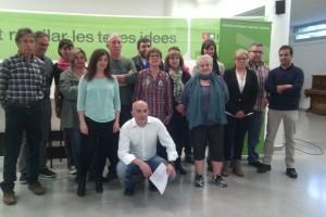ICV de Berga presenta la llista i assegura que aspira a aconseguir representació a la ciutat