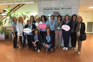 L'Hospital Sant Bernabé participa en la iniciativa 'Dóna la cara per la salut mental'