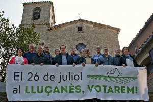 Els tretze municipis del Lluçanès es reuneixen per impulsar la participació en la consulta del 26 de juliol