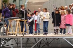 Berga acollirà aquest diumenge la tradicional cantada de Caramelles a la Plaça de Sant Pere