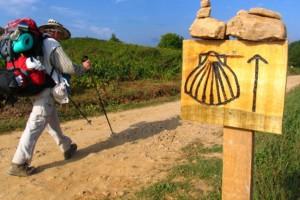 Fer el camí de Santiago amb 80 anys