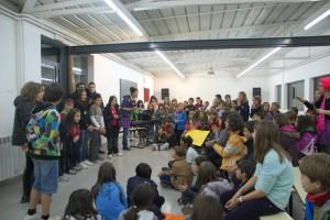 Uns 600 nens i nenes participaran dijous a la segona cantata organitzada entre l'EMMB i les escoles de primària de Berga i Avià