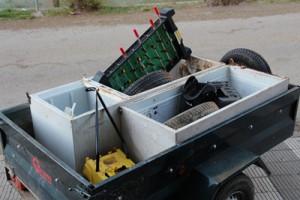 Neteja de deixalles després de Setmana Santa al Parc Natural del Cadí-Moixeró