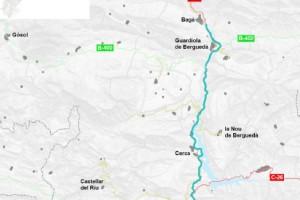 Territori i Sostenibilitat licita obres de millora de la seguretat viària a la C-16 entre Berga i Bagà per valor de 4 milions d'euros
