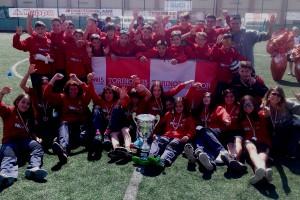 L'equip femení del Puig-reig es proclama campió al torneig internacional de 'Torino 2015, capitale europea dello sport'