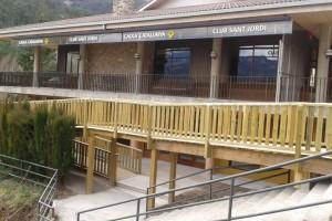 Bagà ja disposa de la seu d'entitats reformada després d'unes obres d'adequació per valor de 70.000 euros