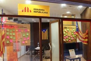 """ERC estrena local a Berga per """"tenir més visibilitat i estar en contacte amb els ciutadans"""" de cara a les eleccions municipals"""