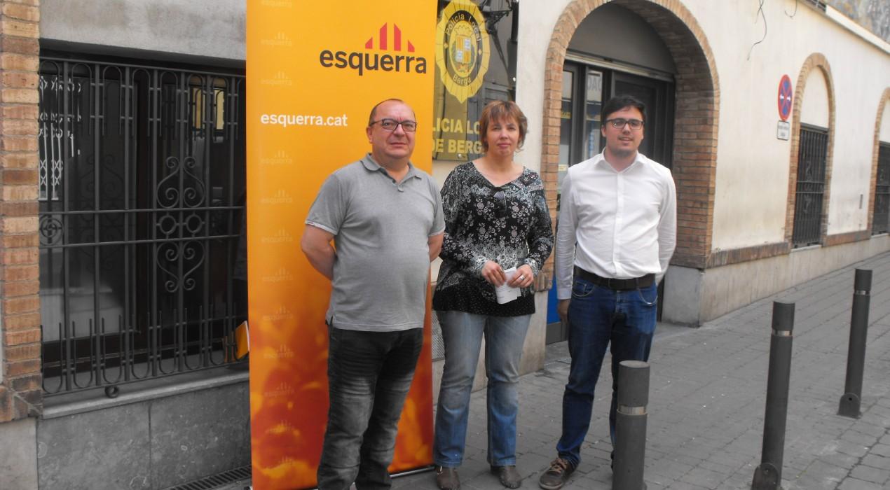 ERC de Berga proposa aproximar la policia local a la ciutadania amb més rondes a peu