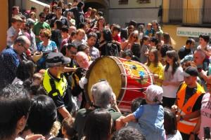 El so del Tabal marca la proximitat d'una nova Patum, enguany del 3 al 7 de juny