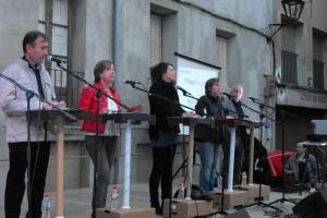 El deute i la necessitat de dinamitzar el barri vell marca l'últim debat electoral de la campanya a Berga