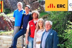 CiU i ERC de Castellar de n'Hug arriben a un acord per tal de consensuar accions i projectes del proper mandat