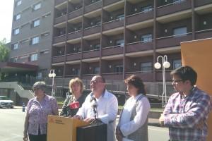 El programa d'ERC aposta per diversificar els usos del nou edifici de l'Hospital Sant Bernabé de Berga
