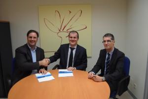 L'Agència de Desenvolupament del Berguedà signa un conveni amb BBVA per facilitar l'accés a finançament als emprenedors i al teixit productiu i industrial