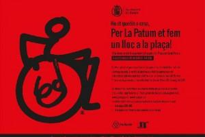 Dilluns s'obre el període per reservar un lloc a l'empostissat que s'habilita per Patum a persones amb mobilitat reduïda