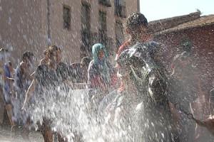 Berga s'omple d'aigua, cavalls i rucs aquest cap de setmana per la Festa dels Elois