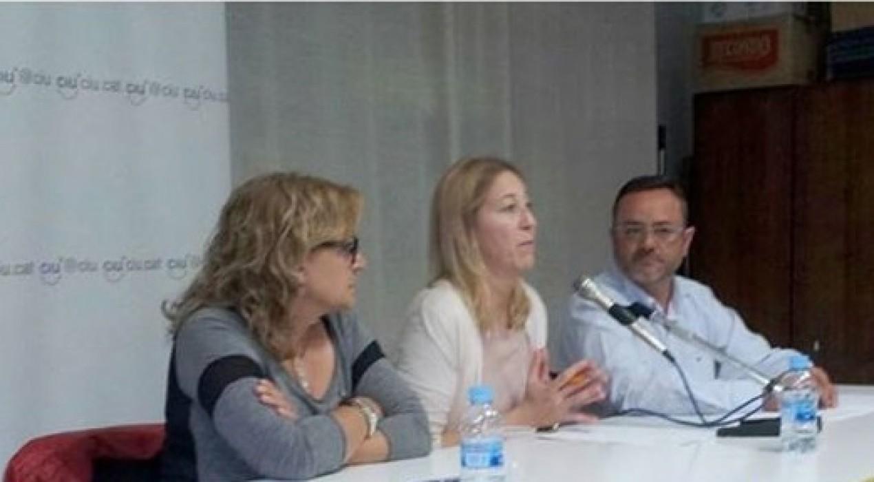 La Consellera de Benestar i Família, Neus Munté, es compromet amb el Centre de Dia de Guardiola
