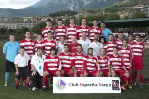 El primer equip del CE Berga ascendeix a Tercera Catalana després que la federació li hagi atorgat una plaça en la repesca