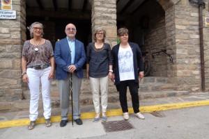 Borredà dóna a conèixer el cartipàs i fa públics els sous de les dues regidores amb dedicació del 65% a l'executiu