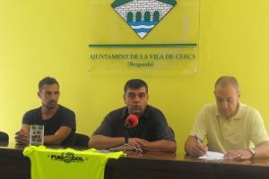 """Cercs cedeix la gestió de les seves instal·lacions esportives al Club de Futbol Sant Salvador amb l'objectiu """"de dinamitzar-ne l'ús"""""""