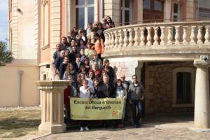 L'Escola Oficial d'Idiomes del Berguedà celebra el 10è aniversari amb un acte al Konvent amb alumnes, exalumnes i professors