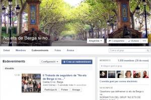 El grup de Facebook 'No ets de Berga si no…' supera ja els 1.950 membres i celebra la segona trobada presencial aquest dissabte