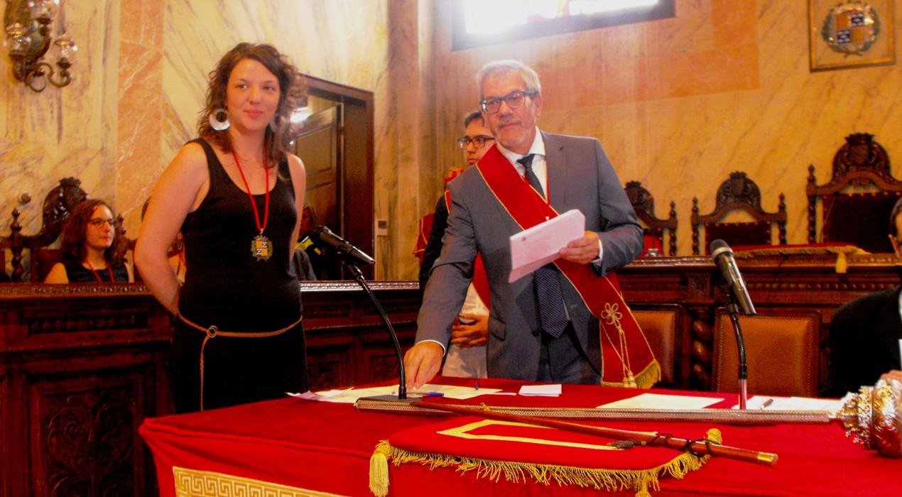 Montse Venturós ja és alcaldessa de Berga