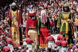 Els quatre gegants protagonitzen el pòster de Bífidus Produccions