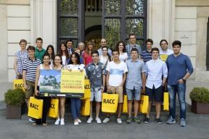 Estudiants de l'INS Alt Berguedà de Bagà guanyen el VIII Concurs Joves i Conducció en la categoria de vídeo