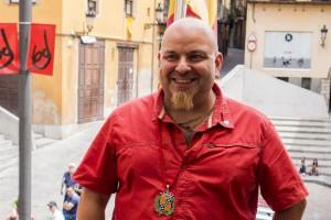 Francesc Ribera, regidor de la CUP a Berga, a favor de la investidura d'Artur Mas
