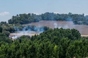 Un incendi en un camp de Graugés crema unes 3,5 hectàrees