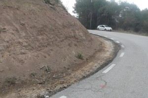 La Diputació de Barcelona inicia les obres de la carretera entre Gaià i Santa Maria de Merlès, amb un pressupost de 665.017 euros