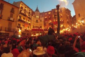 Berga viu entre multituds i el ressò de 1890 els dos primers dies de festa grossa