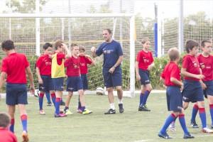 Fins a 60 nens i nenes s'han inscrit al Campus FCB que es farà a Berga al juliol