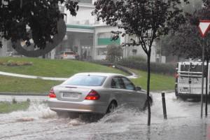 Els Bombers fan una vintena de sortides a Berga a causa de la pluja