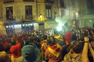 La Patum celebra la Champions al Passacarrers de dissabte