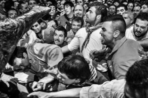 Jordi Cohen es troba ja immers en la campanya ampliada de micromecenatge que li ha de permetre editar un llibre sobre el ball de l'Àliga de Patum
