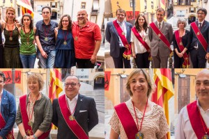 Els regidors del nou Ajuntament de Berga