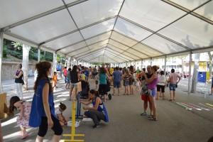 Uns 250 nens i nenes participen en una distesa jornada de jocs al Vall de Berga