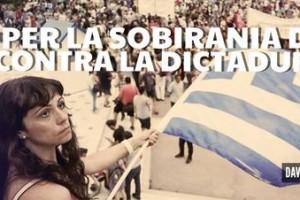 """La CUP convoca avui a Berga una concentració solidària amb el poble grec """"i el seu dret a la llibertat, la democràcia i la independència"""""""