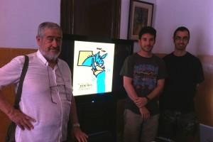 Rubén Torres, guanyador del cartell anunciador de la Festa dels Elois 2015