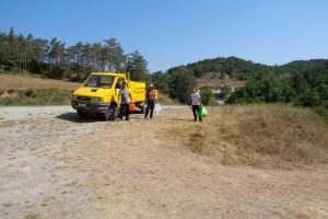 Borredà assumeix la neteja del tram protegit de la Riera de Merlès pel que queda d'estiu