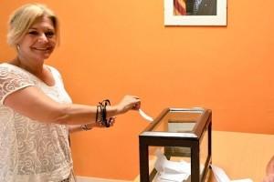 Montserrat Ribera ocupa finalment la posició número 43 de la candidatura de Junts pel Sí a Barcelona