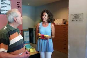 Berga homenatja el filòsof Quim Sala per la donació de fins a 3.000 exemplars de la seva col·lecció personal a la Biblioteca Ramon Vinyes i Cluet