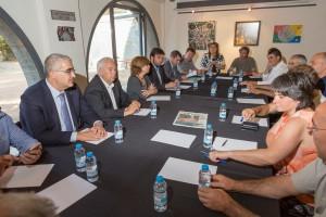 El Govern català acorda amb els alcaldes del Lluçanès les pautes del procés de participació per a la creació de la nova comarca