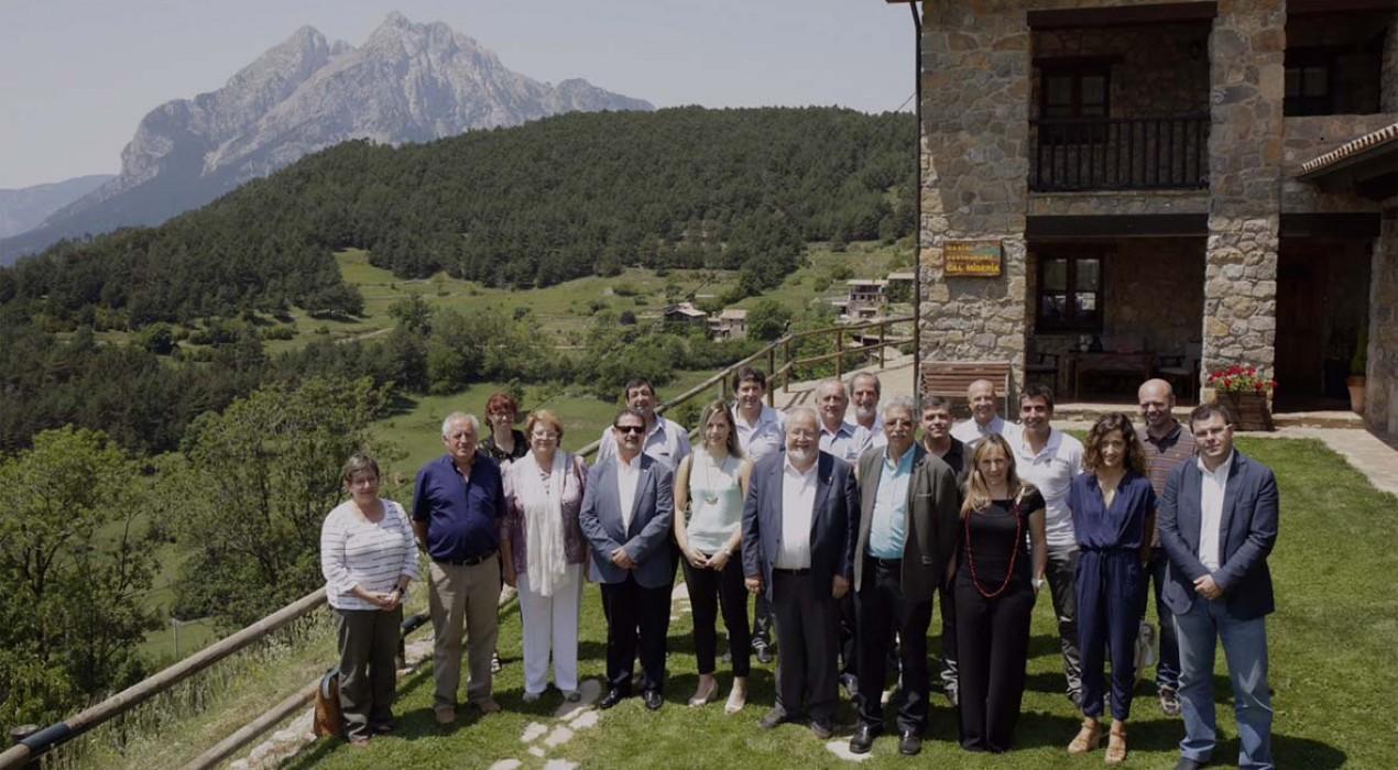 Salvador Esteve comparteix les inquietuds dels petits municipis berguedans