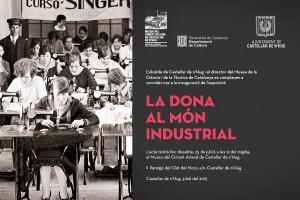 El Museu del Ciment Asland de Castellar de n'Hug inaugura l'exposició 'La dona al món industrial'