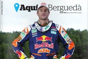 La revista AquíBerguedà treu el número de juliol destacant en portada la retirada del pilot Marc Coma