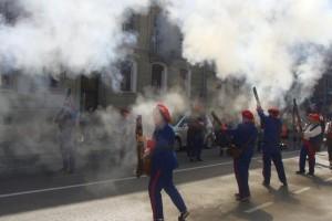 Un descuit a l'hora de demanar els permisos impedeix la participació dels trabucaires de Berga a la Festa dels Elois