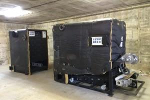 En marxa a Berga la preparació del terreny per instal·lar calderes de biomassa a diferents equipaments municipals abans d'aquest hivern